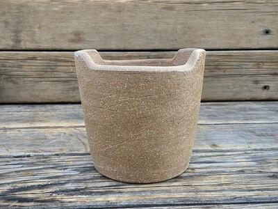 Greenhouse Pot | Rustic Clay Planter | 5.5