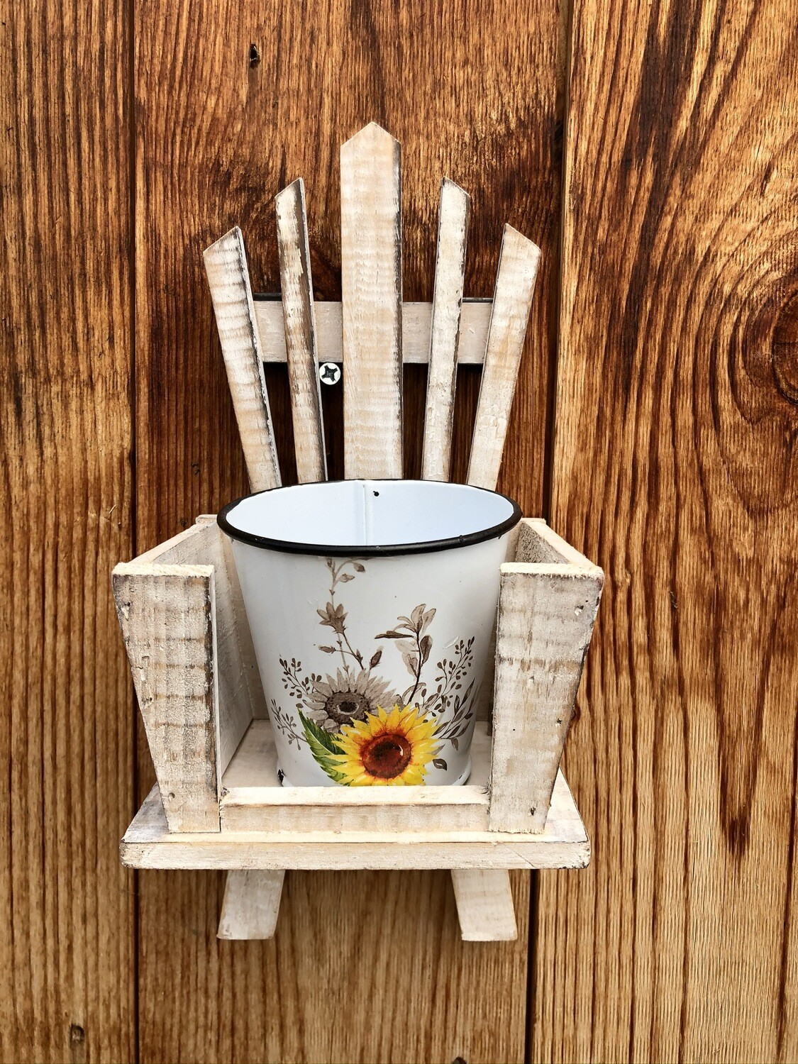 Garden Decor | Sunflower Chair Planter