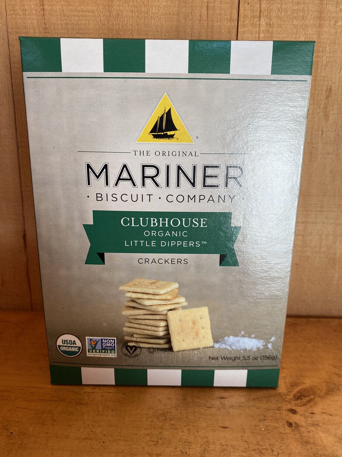 Clubhouse Organic Little Dipper Crackers | Mariner Biscuit Company | 5.5oz