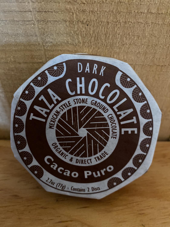 Taza Chocolate Disc   Cacao Puro   2.7oz