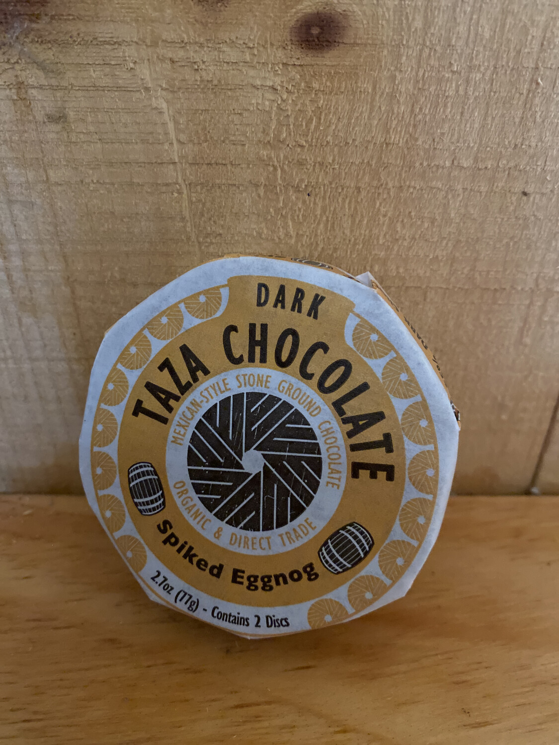 Taza Chocolate Disc | Spiked Eggnog | 2.7oz
