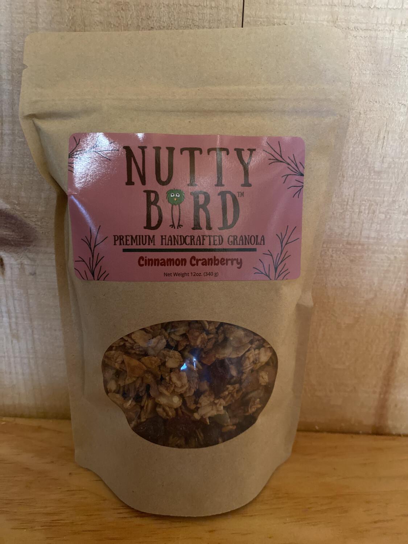 Nutty Bird Granola | Cinnamon Cranberry