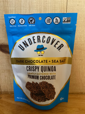 Undercover Dark Chocolate & Sea Salt Crispy Quinoa