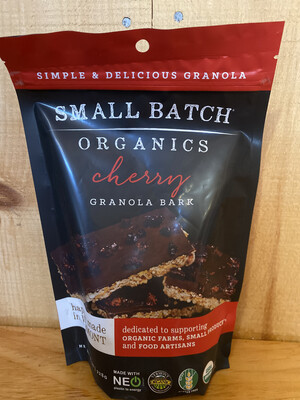 Cherry Granola Bark | Small Batch Organics | 8oz