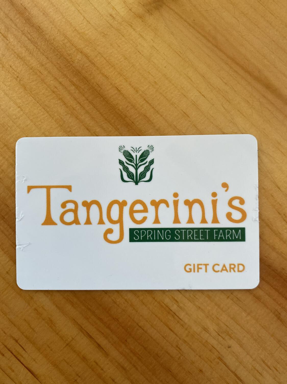 Tangerini's $100 Gift Card