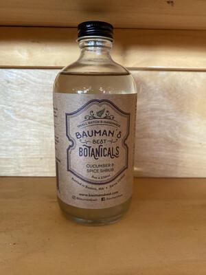 Cucumber & Spice Shrub | Bauman's Best