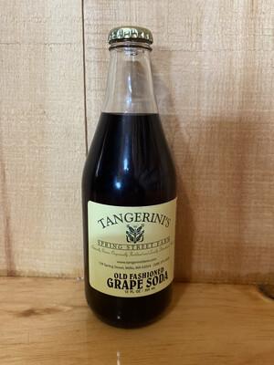 Tangerini's Soda | Grape | 12oz