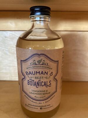 Tangerine & Lavender Shrub Bauman's Best Botanicals