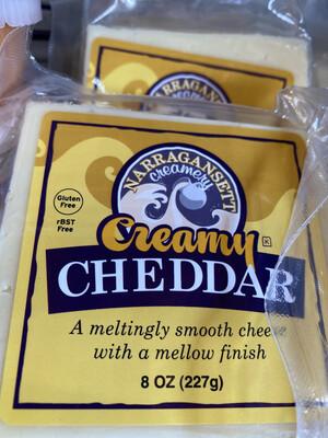 Narragansett Creamy Cheddar Cheese