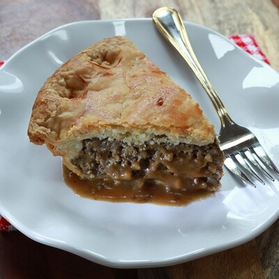 Small Homestyle French Inspired Meat Pie | Centerville Pie Company