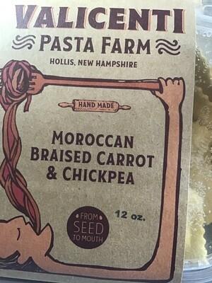 Valicenti Moroccan Braised Carrot Chickpea Ravioli