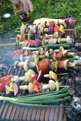 Vegetarische schotel