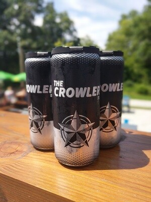 CROWLER SPECIAL - Choose 4 for $40!