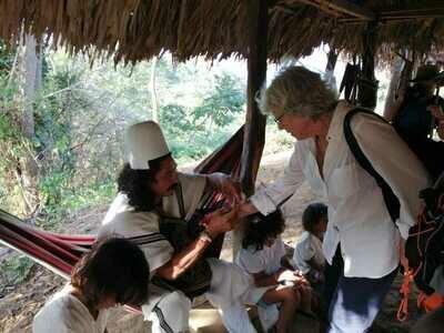 Taller de Mochilas Indígenas Arhuaco