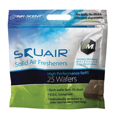 SquAir Wafer deodorizer Blocks 200 per case