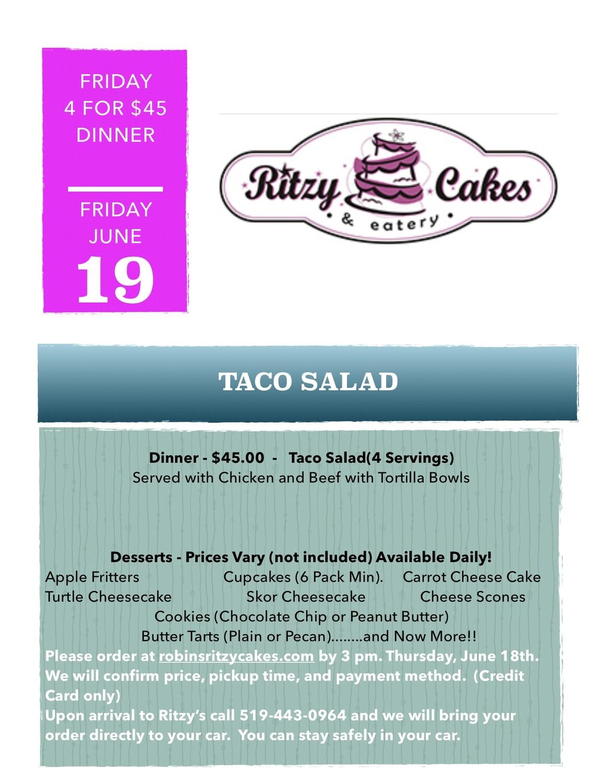 Friday Dinner - Taco Salad