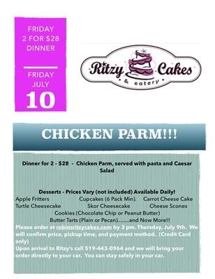 Friday Dinner - Chicken Parm