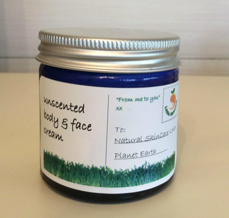 Unscented Moisturiser for Sensitive Skin by Little Satsuma (60ml)
