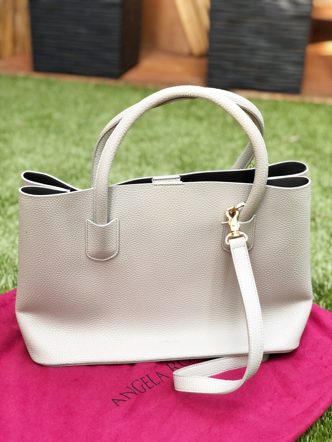 Angela Roi Cher Tote Light Gray