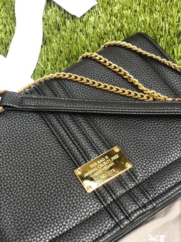 Alexandra K Shoulder Bag Midnight Black