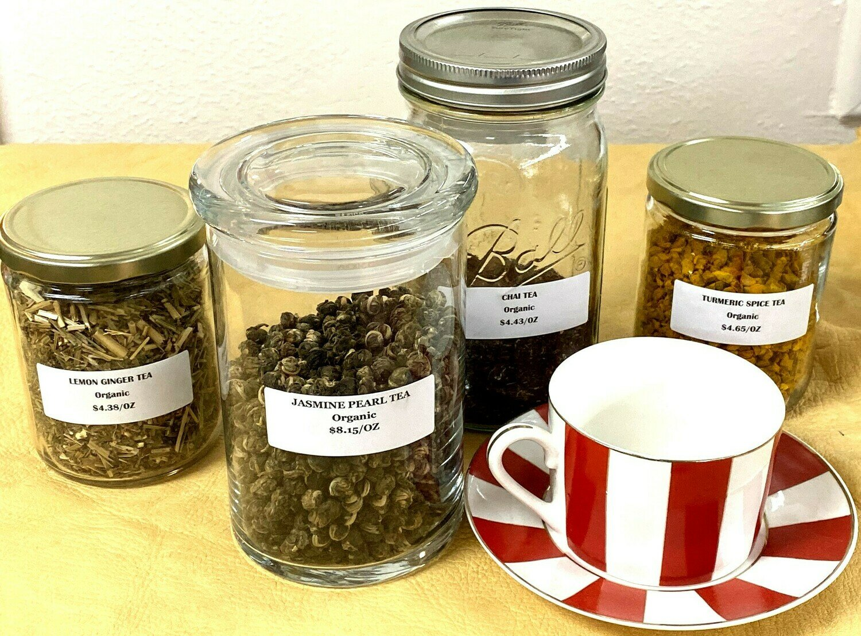 Passion Fruit Flavored Black Tea - 1oz Package