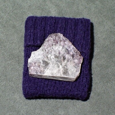 Lepidolite with Small Courier