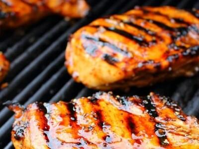 3 poitrines de poulet 7oz marinées à griller