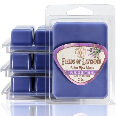 Fields of Lavender Wax Melts - 4 Pack