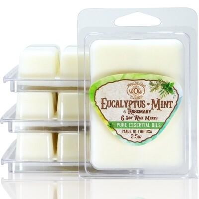Eucalyptus Mint & Rosemary Wax Melts - 4 Pack