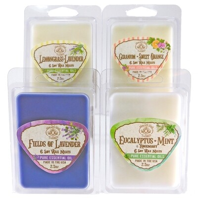 All the Essentials Wax Melts - 4 Pack