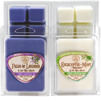 Stress Relief and Relaxation Wax Melts - 4 Pack
