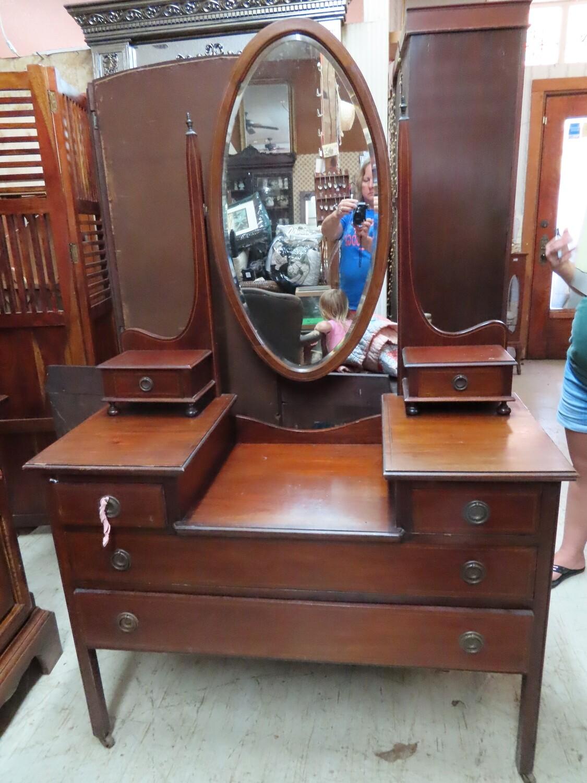 Antique Mahogany Vanity