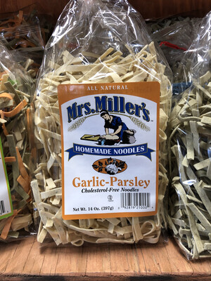 Garlic Parsely Noodles