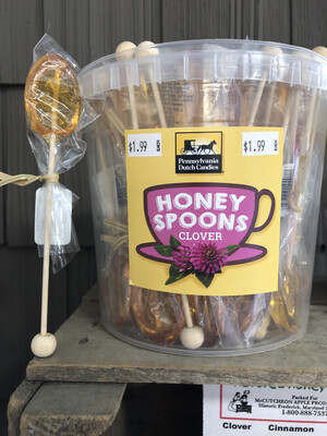 Honey Spoons Clover