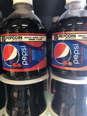 Wild cherry Pepsi- 20 Oz