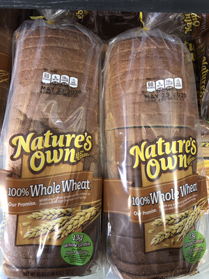 Natures Own - Wheat Bread