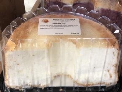 Angel Food Cake- Half