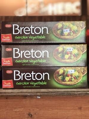 Brenton Garden Vegetable Crackers