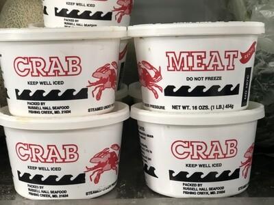 Backfin Lump NORTH CAROLINA crabmeat