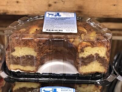 Apple Cinnamon Streusel Cake - Half