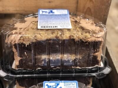 German Chocolate Cake - Half