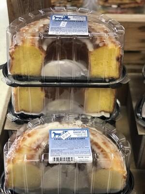 Lemon Glazed Cake - Half