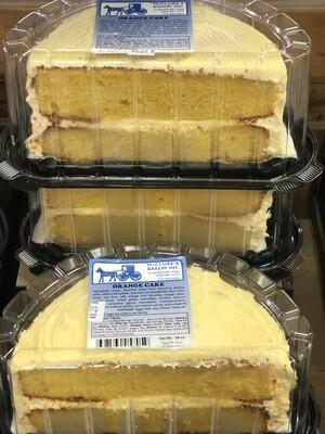 Orange Cake - Half