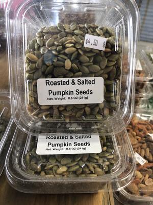 Roasted And Salted Pumpkin Seeds