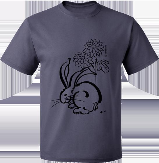 Rabbit & Flower T-shirt