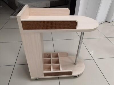 Стол сервировочный  млечный дуб