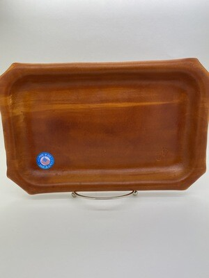 Jason Blue Leather Rolling Tray - Medium 7