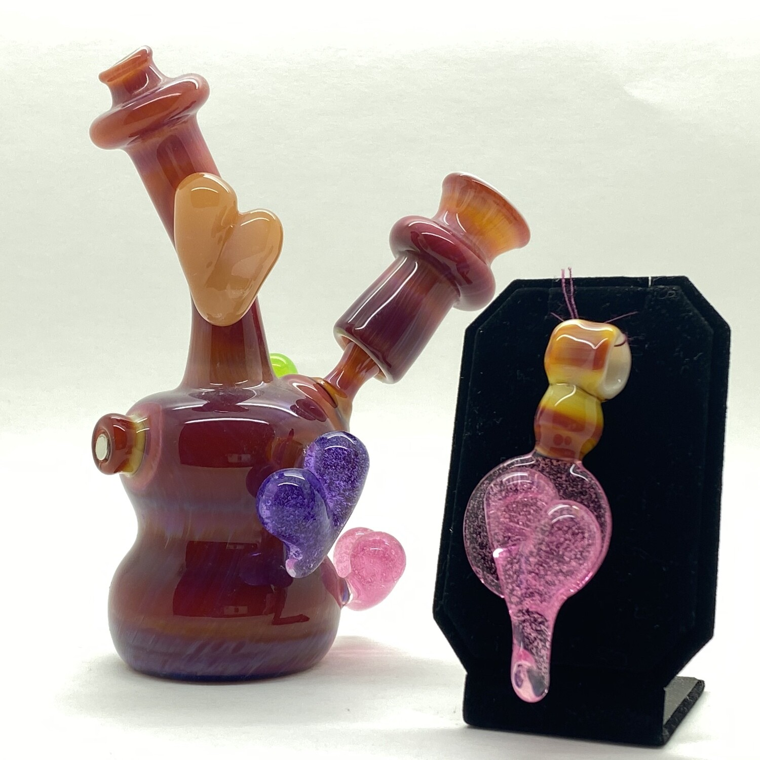 Josh Bailey Heart Rig with Heart Pendent/Dabber