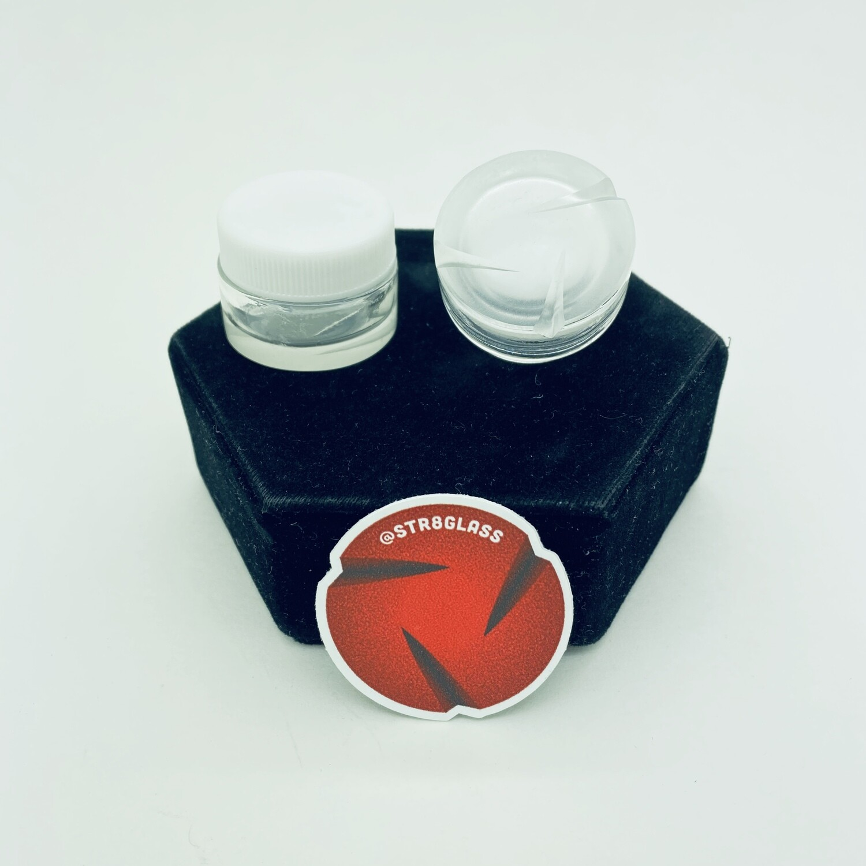 Str8 Glass Spinner Jar #1