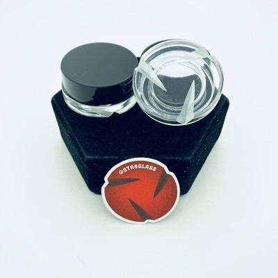 Str8 Glass Spinner Jar #3